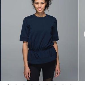 Lululemon Peplum Pullover